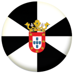 Ceuta Flag 25mm Flat Back.